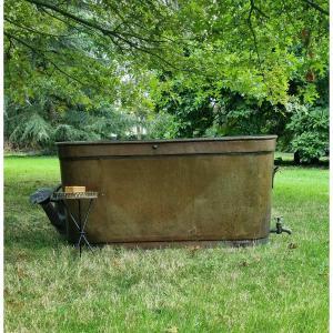 Red Copper Bath .... Restoration Period