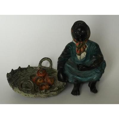 Bronze De Vienne Orientaliste D'apres Bergmann XIX ème