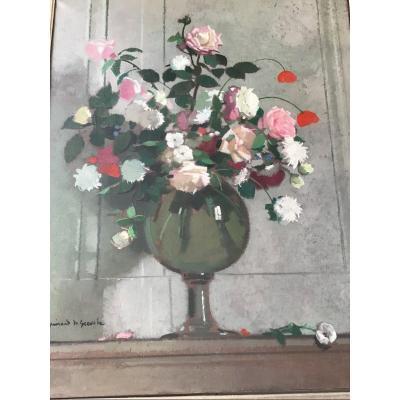 Huile sur toile signée par le peintre français Guirand de Scevola