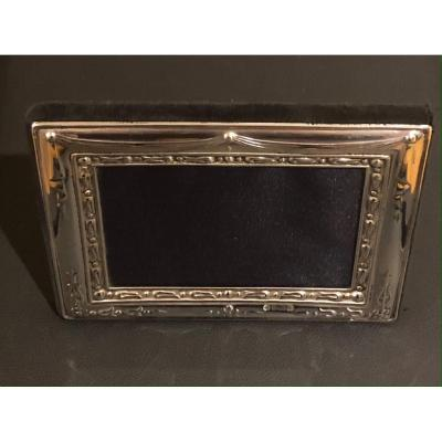 English Solid Silver Photo Frame