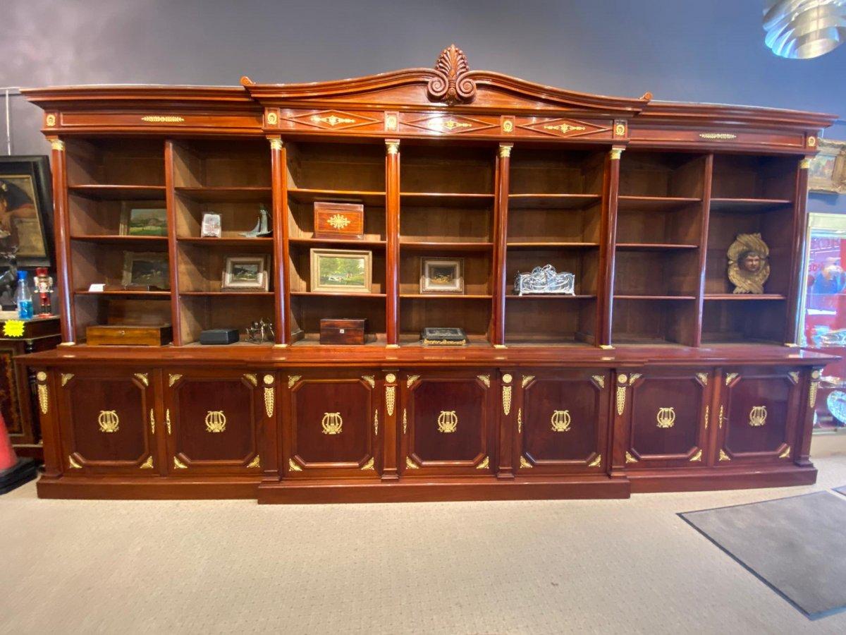 Bibliothèque Style Empire