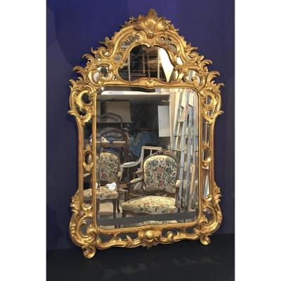 Louis XIV Style Mirror. Regency