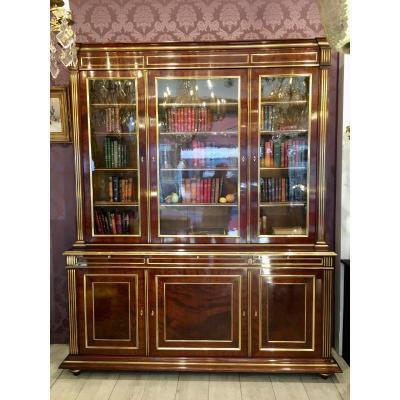 Bibliotheque De Style Louis XVI