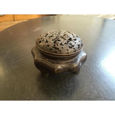 Chine Brûle-parfum En Bronze Epoque Ming XVI°