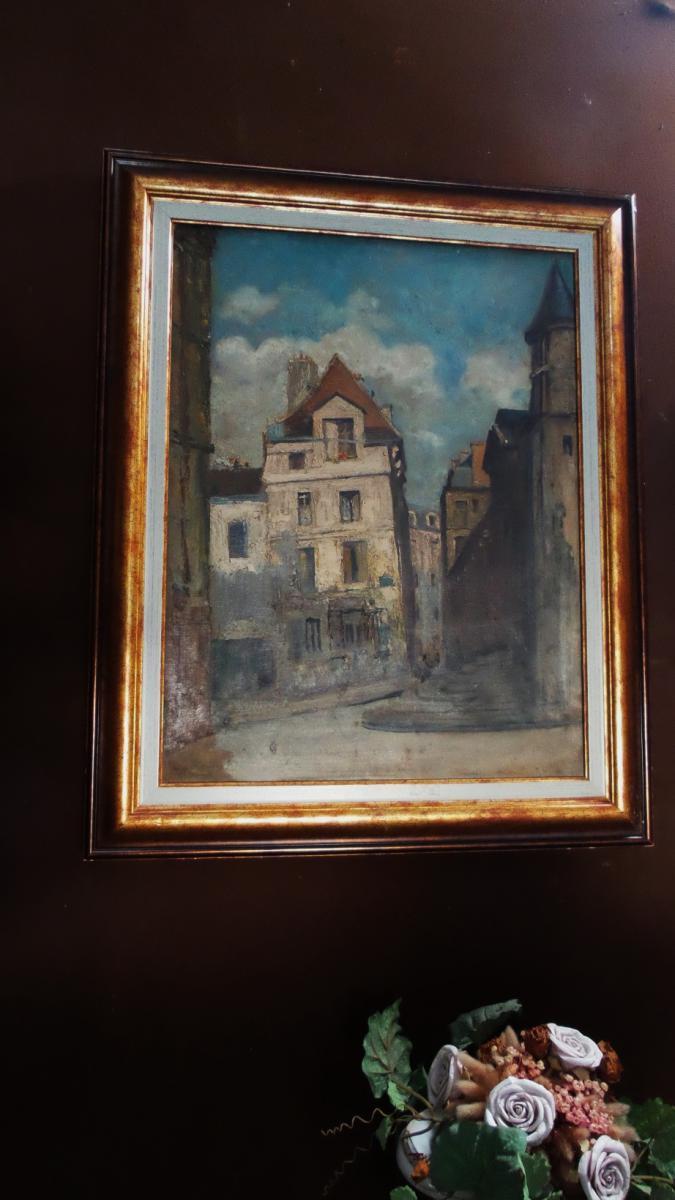 Rue De La Montagne Sainte Geneviève Paris