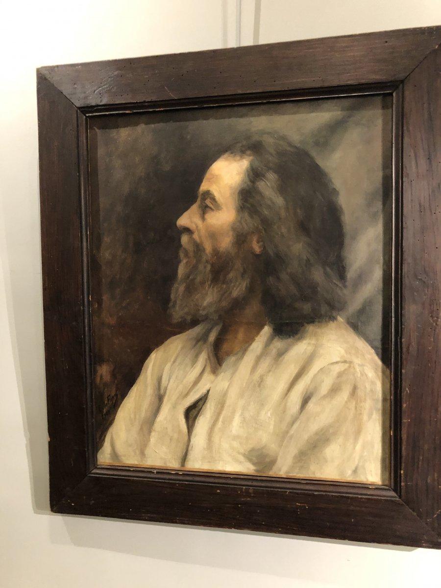 Portrait Of Mikhail Chekhov (1908) By F De Fayet Oil On Canvas