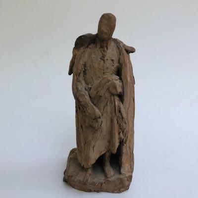 Sculpture en terre cuite de F. Duret ( Francisque Joseph Duret 1804-1865)