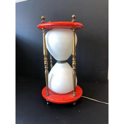 Lampe Forme Sablier 1950 «vanité»