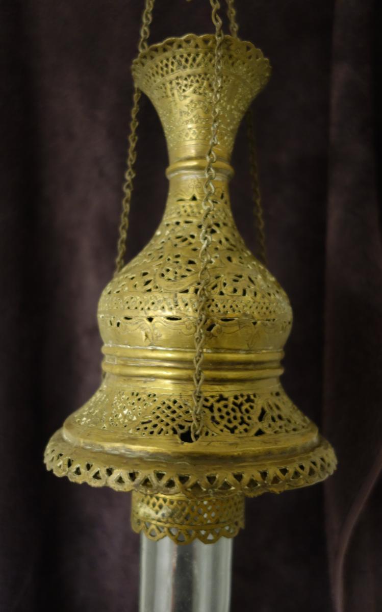 Lampe De Mosquée Début XXe-photo-4
