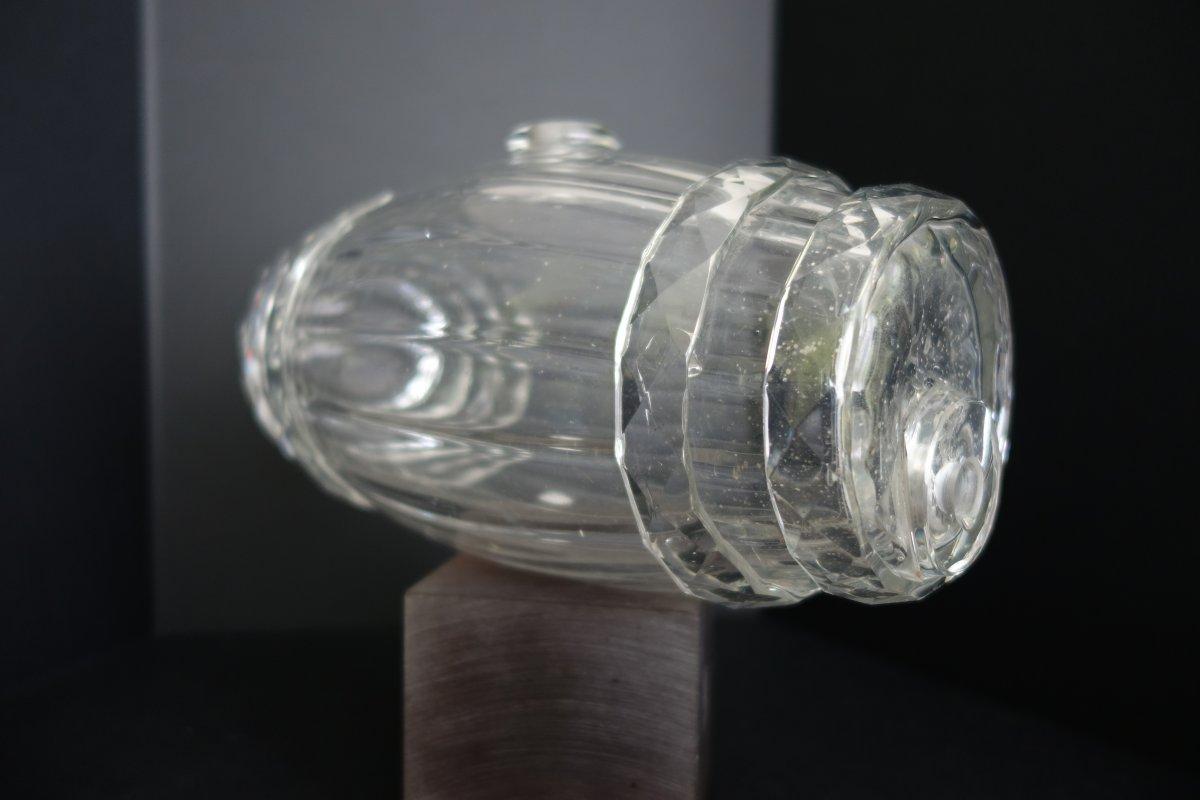 Baril à Alcool, Cristal époque Restauration-photo-3