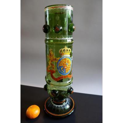 Vase XIXe Style Fritz Heckert