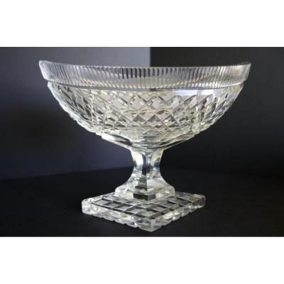 Cup On Piedouche Crystal Restoration Period