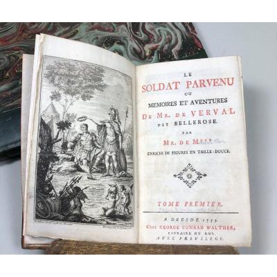 Le Soldat Parvenu  , 1753