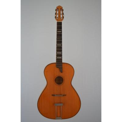 Guitar By Araldo De Bernardini In Nice 1956