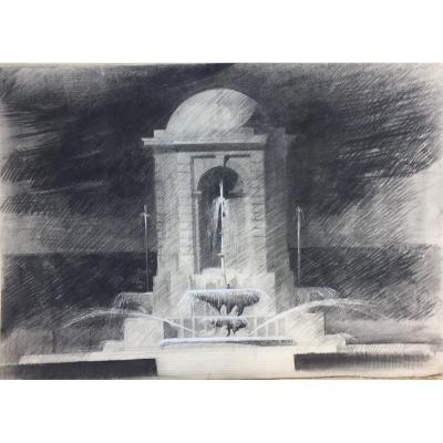 Dessins P Ojet Architecturaux Astruc Ecole Des Beaux Arts 1950