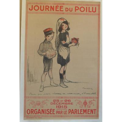 Affiche Journée du Poilu.