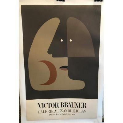 Affiche Entoilée Victor Brauner Exposition