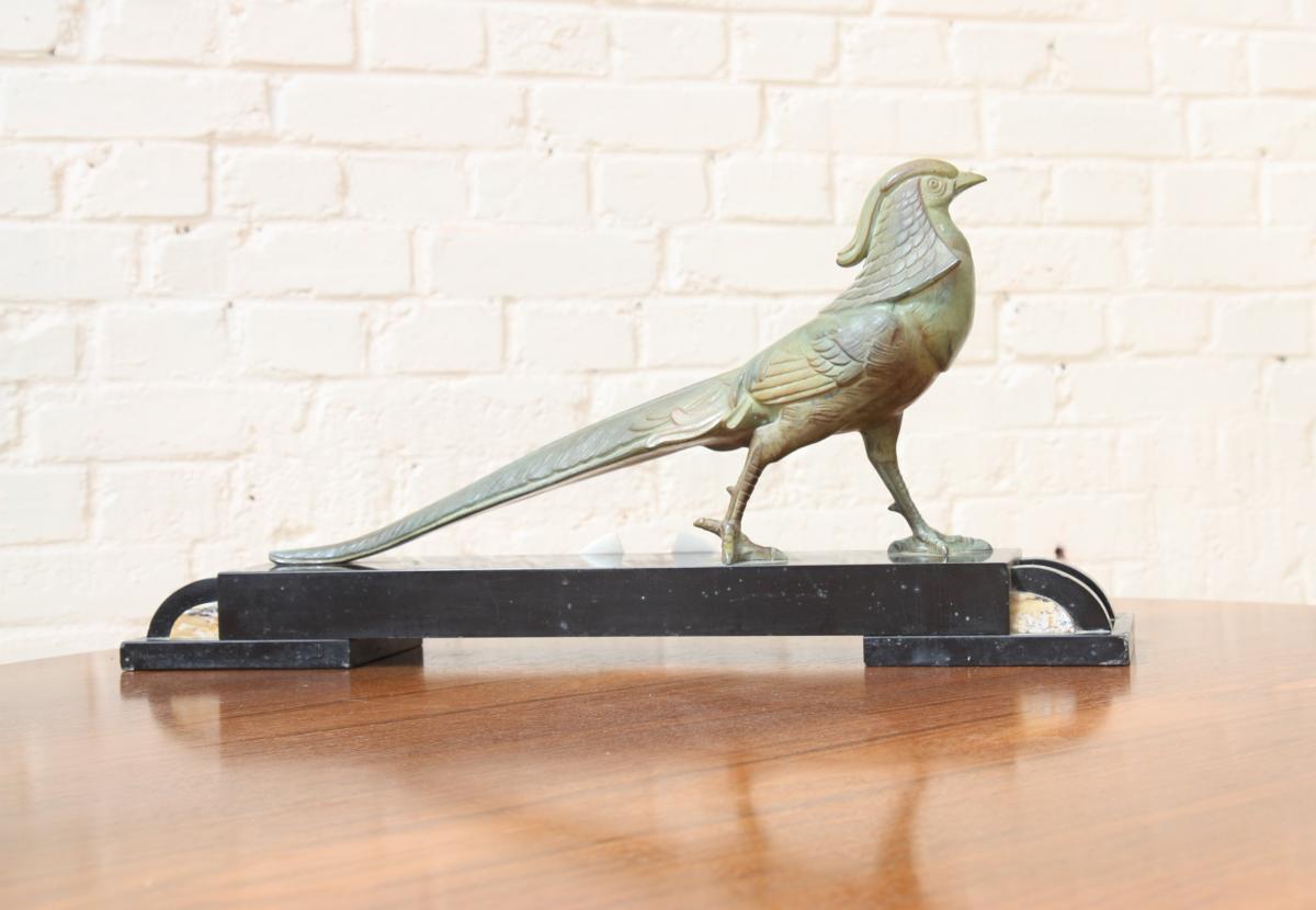 Sculpture Sujet à La Pie-photo-2
