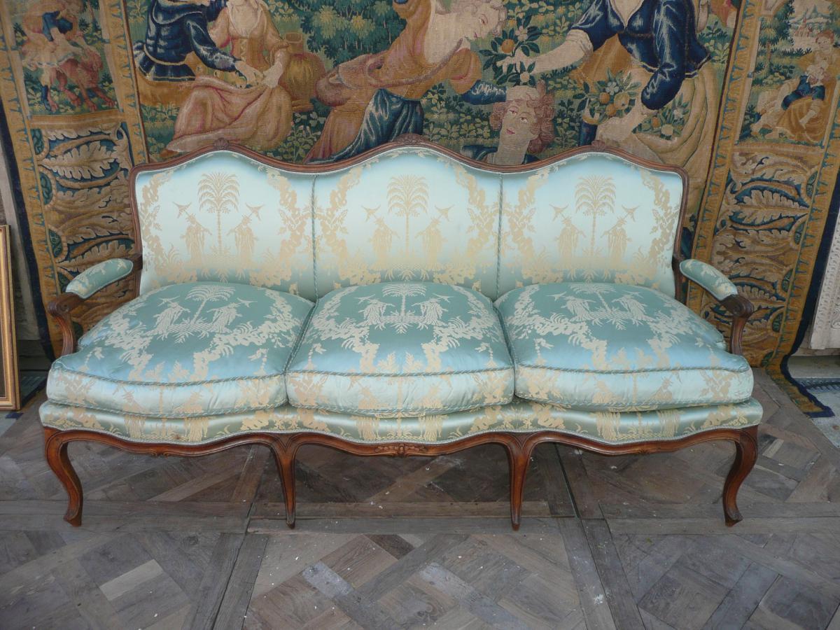 Canapé Mouvementé à Triple évolution Louis XV