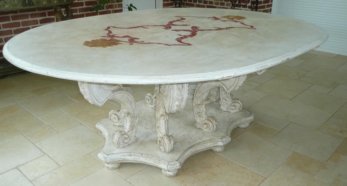 Table d'Apparat Ovale