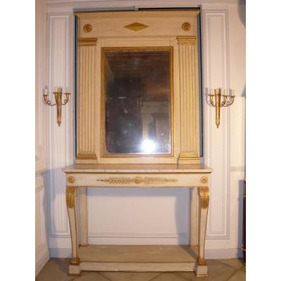 Console Et Son Trumeau Restauration