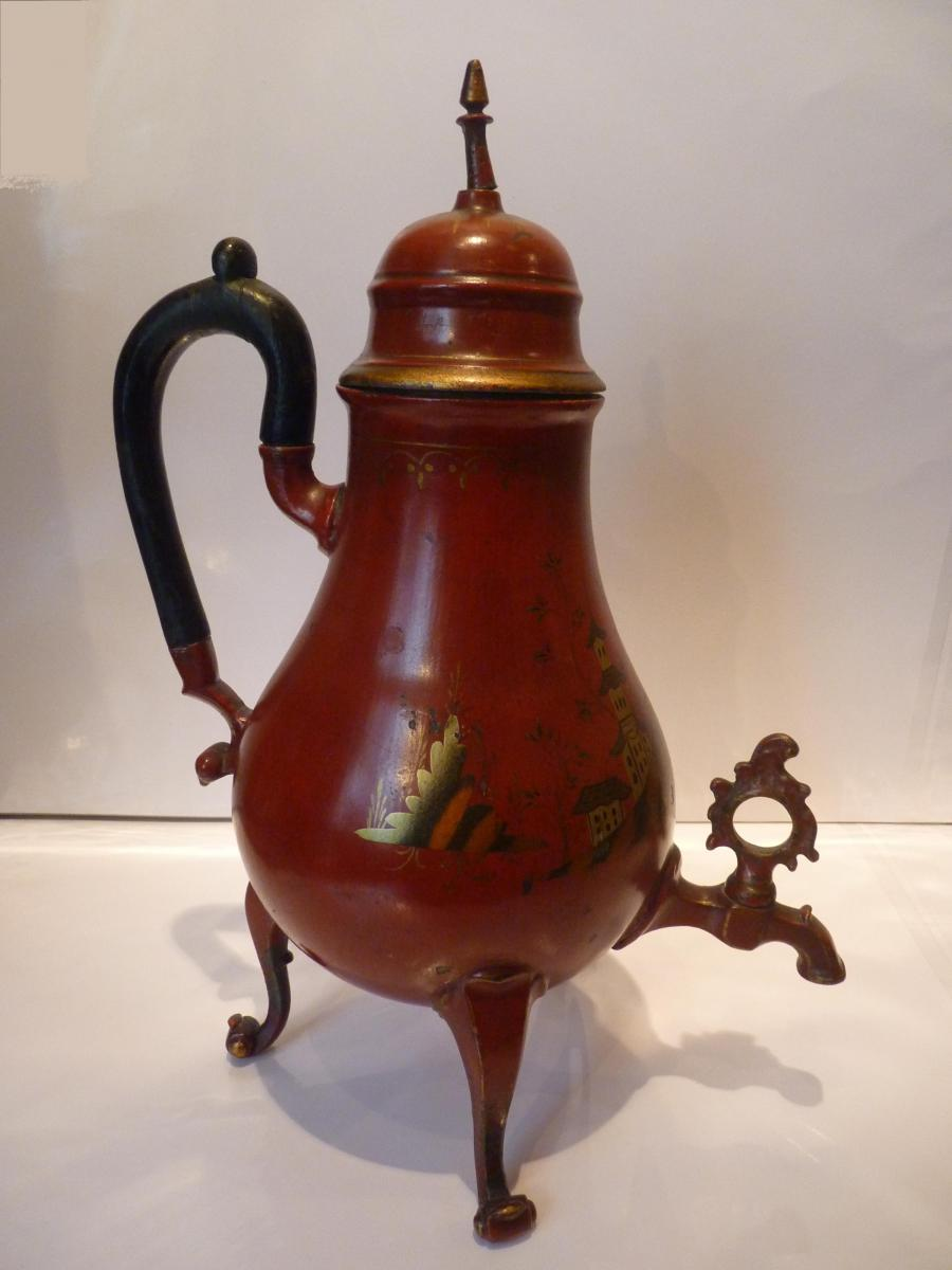 Fontaine th tain laqu et dor d cor de chinoiseries for Decoration 18eme siecle