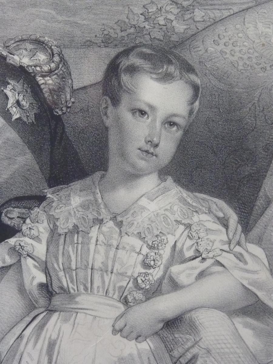 Nicolas Maurin (1799-1850), Duc d'Orléans Et Sa Famille, époque Louis-Philippe-photo-4