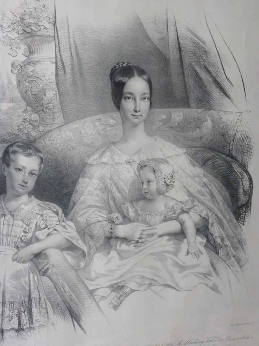 Nicolas Maurin (1799-1850), Duc d'Orléans Et Sa Famille, époque Louis-Philippe-photo-1