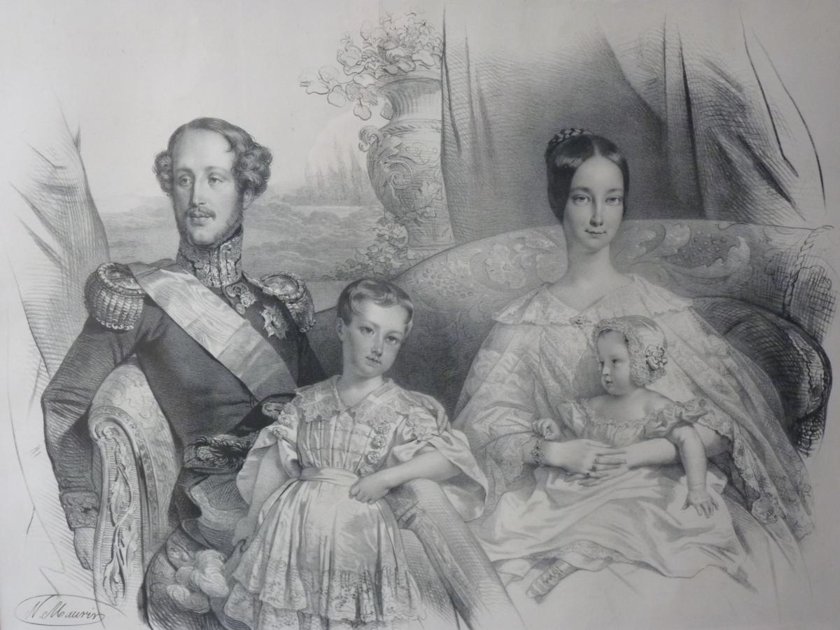 Nicolas Maurin (1799-1850), Duc d'Orléans Et Sa Famille, époque Louis-Philippe-photo-5