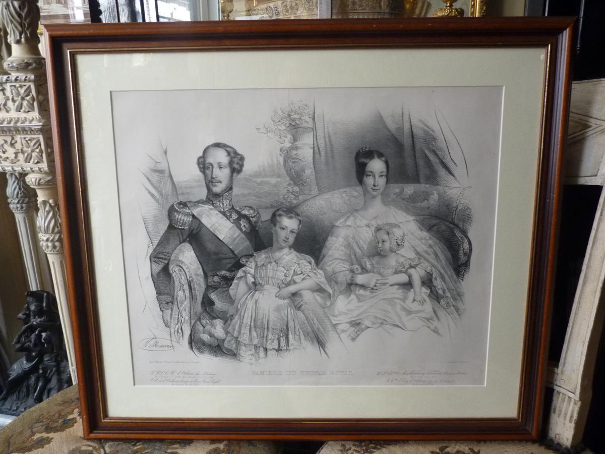 Nicolas Maurin (1799-1850), Duc d'Orléans Et Sa Famille, époque Louis-Philippe-photo-6
