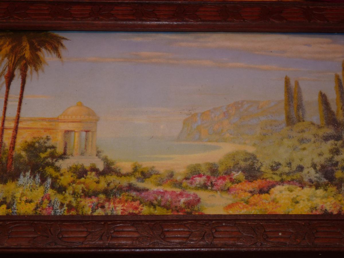 Hermann Rudisuhli (1864-1944) Paysage De Méditerranée, Aquarelle