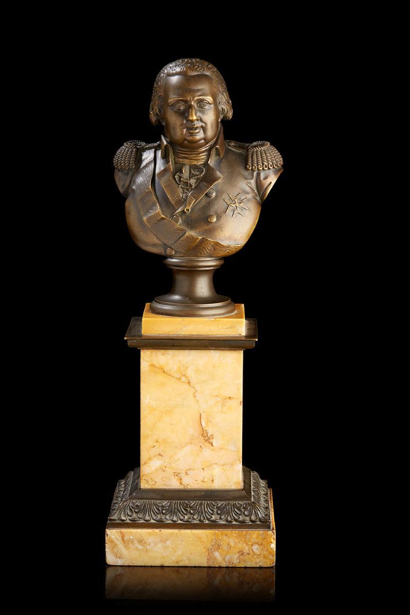Louis François Jeannest (1781-1856), Roi Louis XVIII, époque Restauration