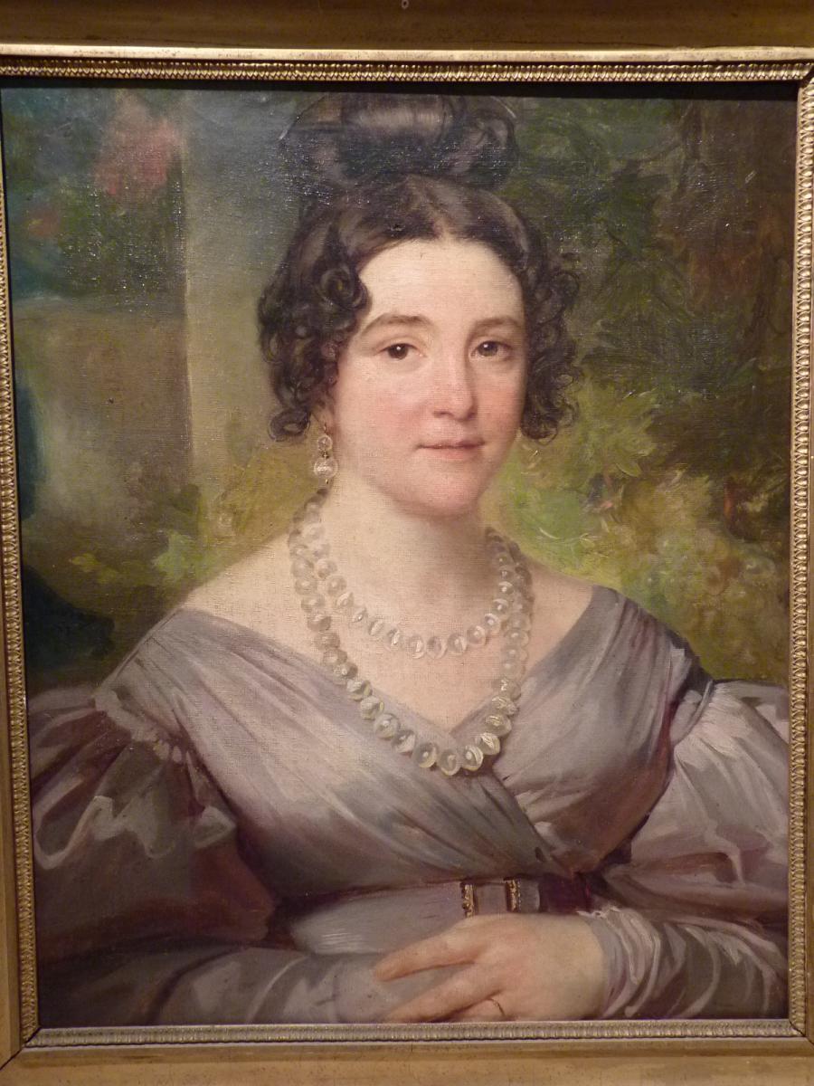 Portrait Of An Elegant, Restoration Era