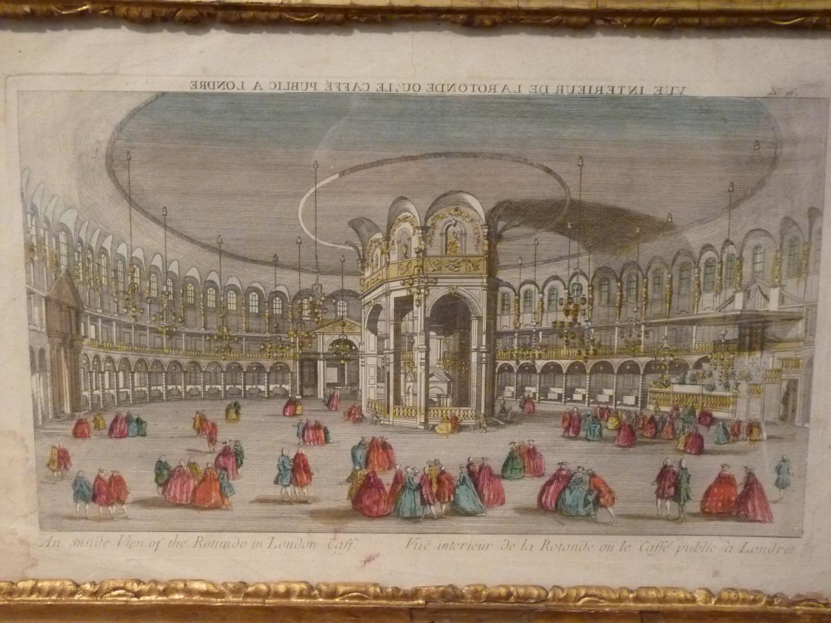 View Optics, La Rotonde From London, 18th Century