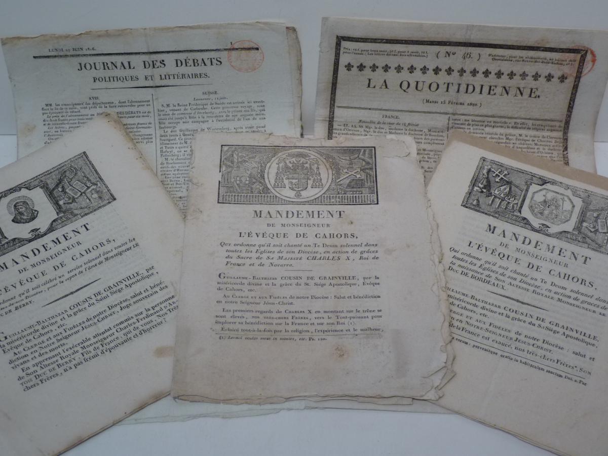 5 Publications About The Last Bourbons, Restoration Era