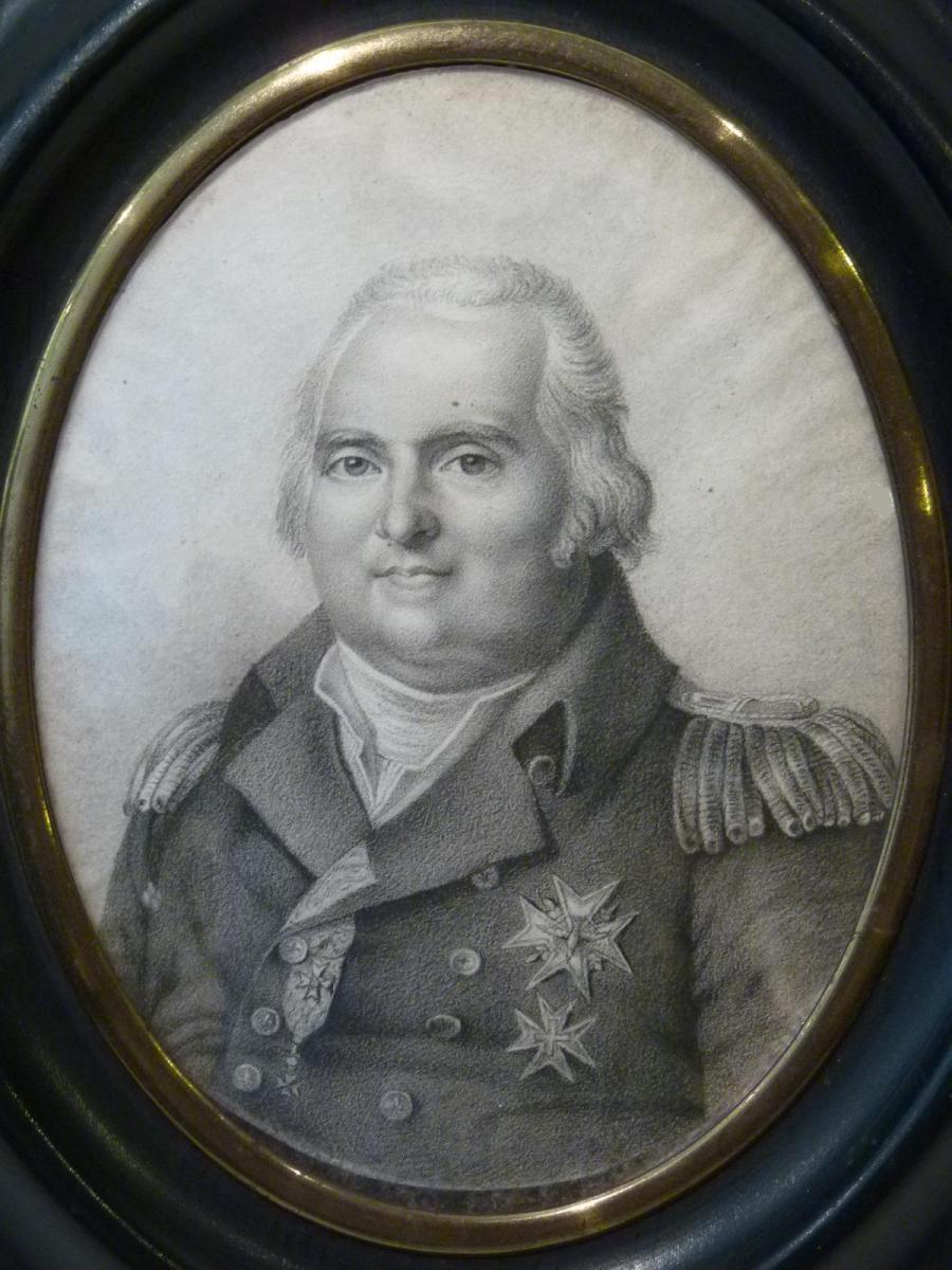 Roi Louis XVIII, d'après Jean Baptiste Augustin, Epoque Restauration