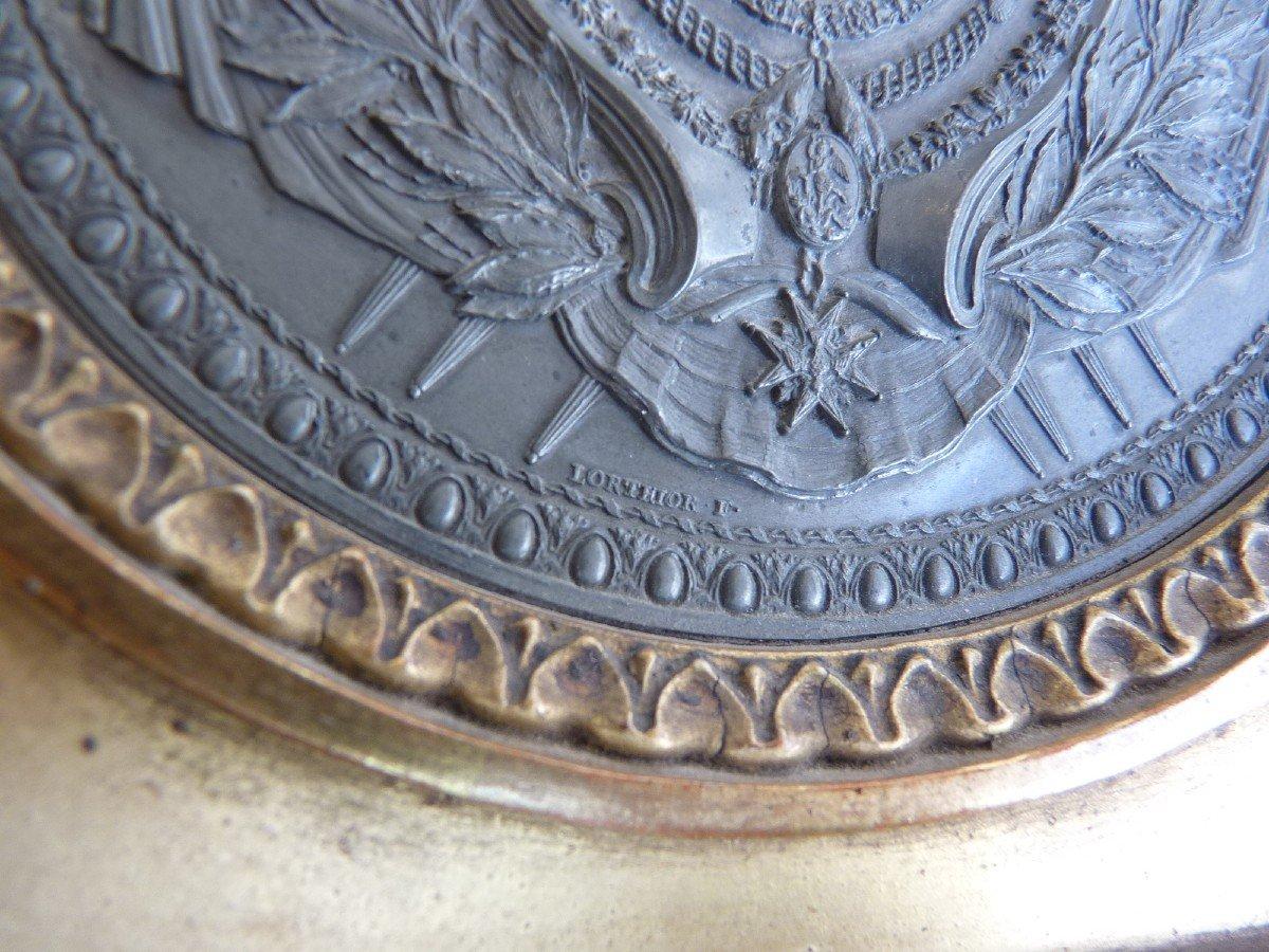 Armoiries Princières, Charles-Philippe de France futur Roi Charles X, Pierre Joseph Lorthior (1733-1813) Epoque Louis XVI -photo-5