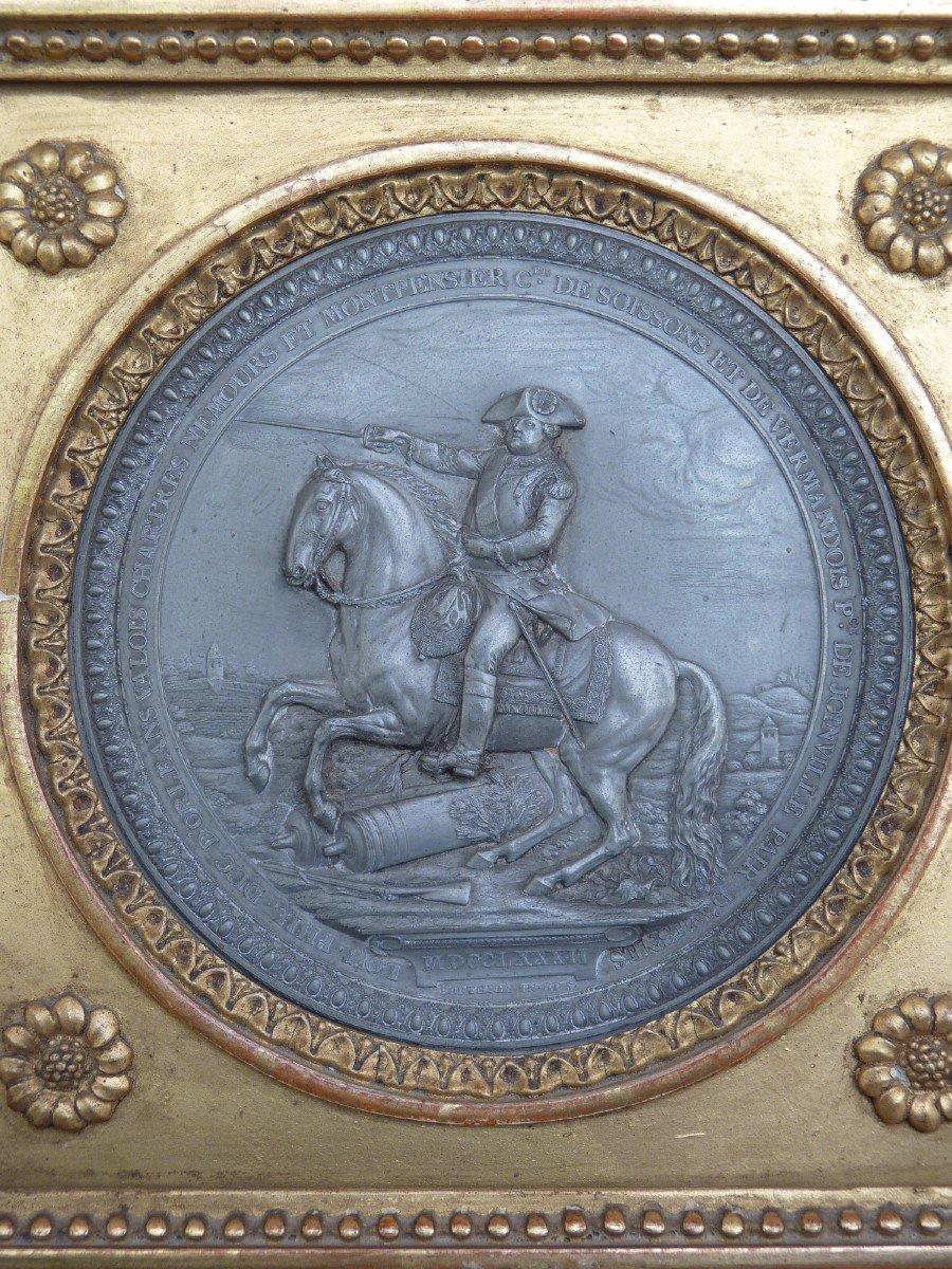 Louis-Philippe d'Orléans, Médaillon par Pierre-Joseph Lorthior (1733-1813) Epoque Louis XVI