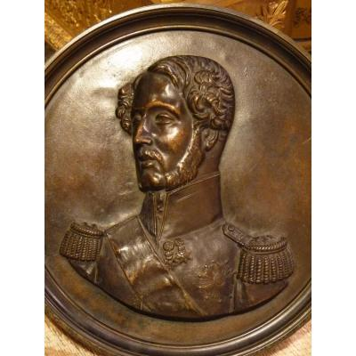 James Pradier (1790-1852) Portrait Of The Duke Of Orleans, Simonet Bronze Foundry