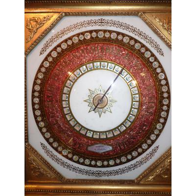 Gohin Barometer Signed In Paris, When Charles X