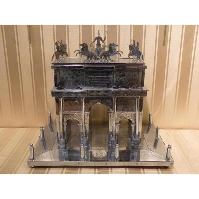 Triumphal Arch Of Peace In Milan, Silver Reduction