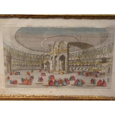Vue d'Optique, La Rotonde De Londres, 18ème Siècle