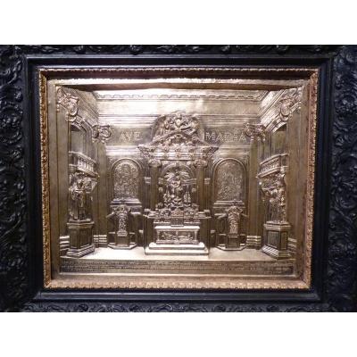Notre Dame Des Victoires In Paris, Bas-relief, 19th Century