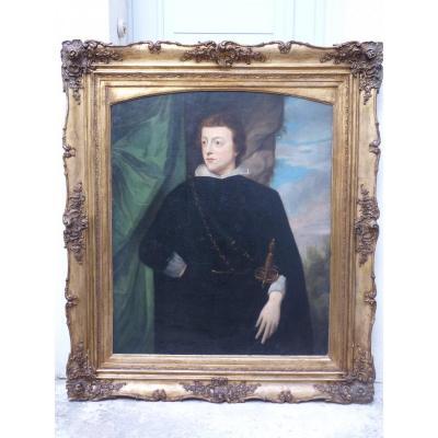 Prince Filippo d'Este d'après Antoine Van Dyck, 19e Siècle
