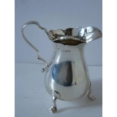 Small Pitcher, Sterling Silver, Goldsmith Robert Pringle In London, 1923
