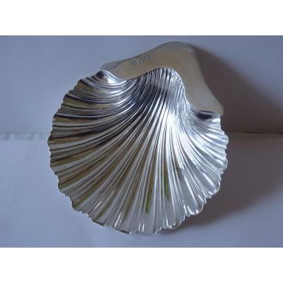 Shell, Sterling Silver, Goldsmith Harry Atkin, 1923
