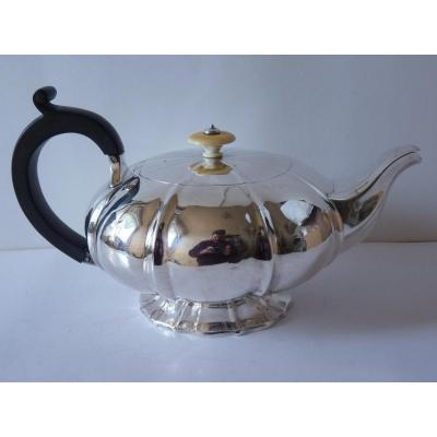 Sterling Silver Teapot, Goldsmith George Burrows, London 1821