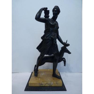Diane de Versailles, Bronze, Epoque Restauration