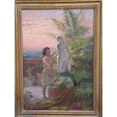 Auguste Bourotte (1853-1940) Pygmalion & Galathée, 1892