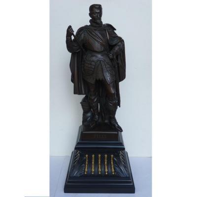 Comte de Tilly, Ludwig Schwanthaler (1802-1848), Bronze 19e Siècle